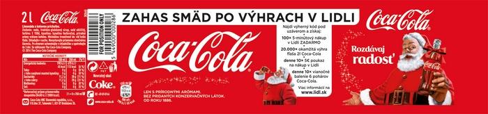 2b3c0e72b2 Exkluzívna súťaž s Coca-Colou v Lidli - LenPreZdravie.sk